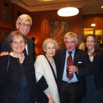 From L to R: Barbara & Marti Brezger, Suzy Silbert, Peter Winterton and Yael Jacobson