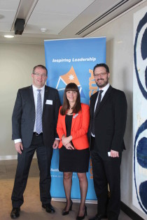 From Left: Yaacov Michlin, CEO, Yissum, Michelle Blum, CEO, AICC and Paul Rubenstein, Partner, Arnold Bloch Leibler