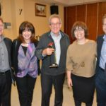 From left: Jonathan Jacobson, Roz & Irwin Tollman and Sharon & David Parry