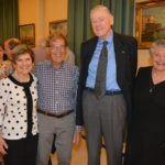 From left: Laura & Ike Raiter and Ken & Judith Arkwright
