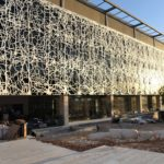 Exterior photo of the new brain sciences building at the Edmond and Lily Safra Center for Brain Sciences (Credit: Michael Zekri for Hebrew University)